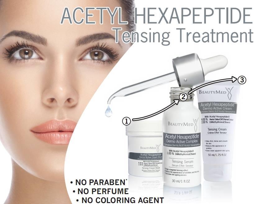 ACETYL HEXAPEPTIDE -   Биоактивный комплекс(ДАС) с ацетил гексапептидом (эффект ботокса)